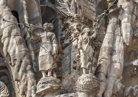 Spain, Barselona, Sagrada Familia. photo