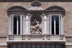 palacio de la generalitat catalana foto