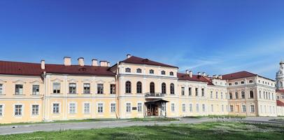 Alexander Nevsky Lavra (monasterio) en San Petersburgo. foto