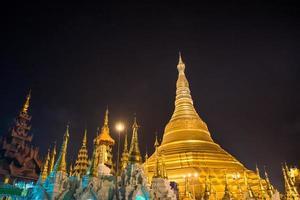 Shwe Dagon Pagoda at Night