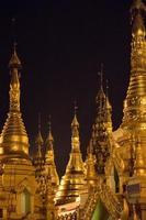 Small Pagodas in Shwe Dagon Compound