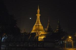 Sule Paya in Yangon photo