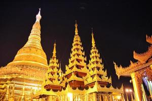 Shwedagon Pagoda, Yangon, Myanmar photo
