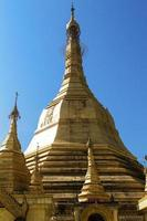 Sule pagoda, Yangon, Myanmar photo