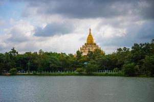 Swel daw Buddha Pagoda, Yangon,Myanmar photo