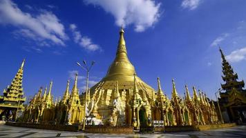 Shwedagon Pagoda in Yangon,Myanmar photo