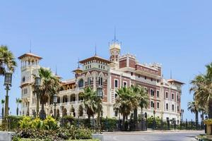 Palacio de Montaza en Alejandría, Egipto. foto