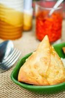 Samosa. Indian pastries