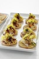 sevpuri, chat food, india