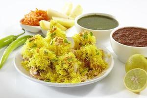 Sev Puri, Chat item, India photo
