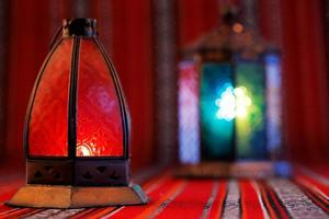 Lanterns are iconic symbols of Ramadan in the Middle East photo