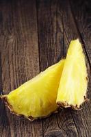 Pineapple slices photo