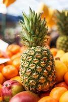 Healthy food, pineapple photo