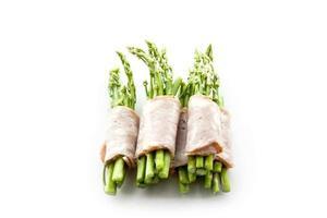 spek wikkelen asperges op isolaat