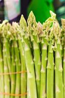 Asparagus stalks photo