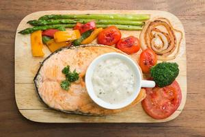 Zalm steak