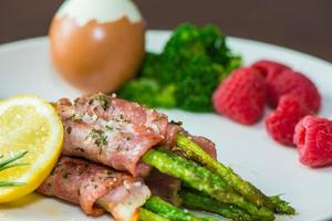 Breakfast Bacon Asparagus photo