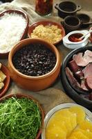 Feijoada, Brazilian traditional meal photo