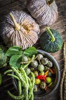 Still life shoot of vegetable photo