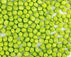 Green peas close-up photo