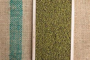 green mung beans background