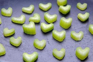 raw fresh celery photo