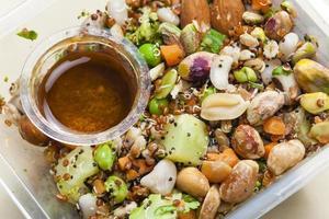 legume salad photo