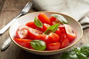 fresh tomato salad photo