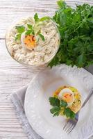 Polish vegetable salad photo