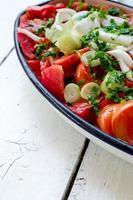 Tomato salad photo