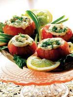 Salad with tomatoe photo