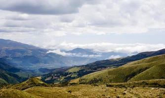 hilly landscape photo