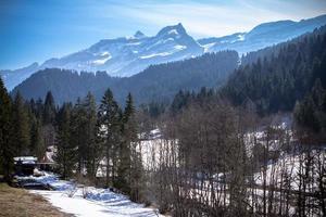 Alpine landscape photo