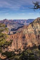 paisaje del gran cañón foto