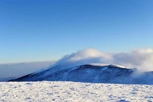 bela paisagem de inverno