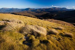 Peaceful mountain landscape photo