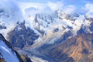 paisaje de alta montaña foto