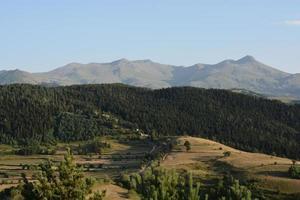 paisaje montañoso artvin
