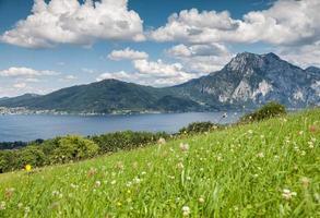 hermoso paisaje austriaco foto