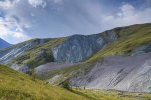 Beautiful mountain landscape photo