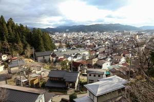 landscape of takayama japan photo