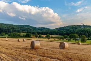 Countryside Summer Sunset Landscape photo
