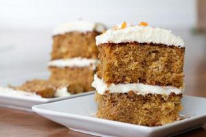 pastel de zanahoria y piña - a la altura de los ojos