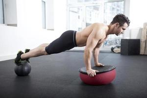 push-up en tosu ball