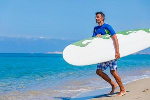 Surf man photo
