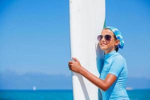 chica con surf