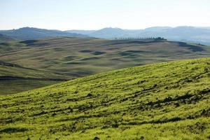 campo toscano, paisaje italiano