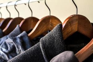 Winter clothes photo