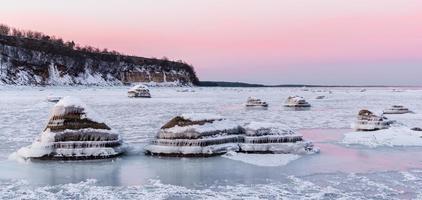 costa de invierno foto