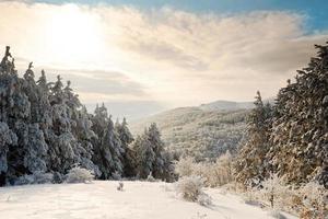 montagna invernale